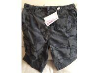 O'Neill men's shorts, size 28, grey aop