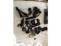 minolta, x-700, camera , bag and accessories,