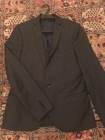 Grey Topman Suit Jacket