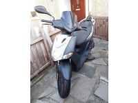 Kymco AGILITY CITY 125cc with alarm In very good condition £1200 ONO