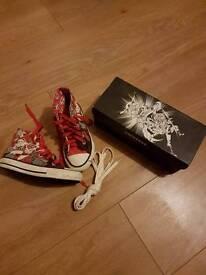 Converse DC shoes kids