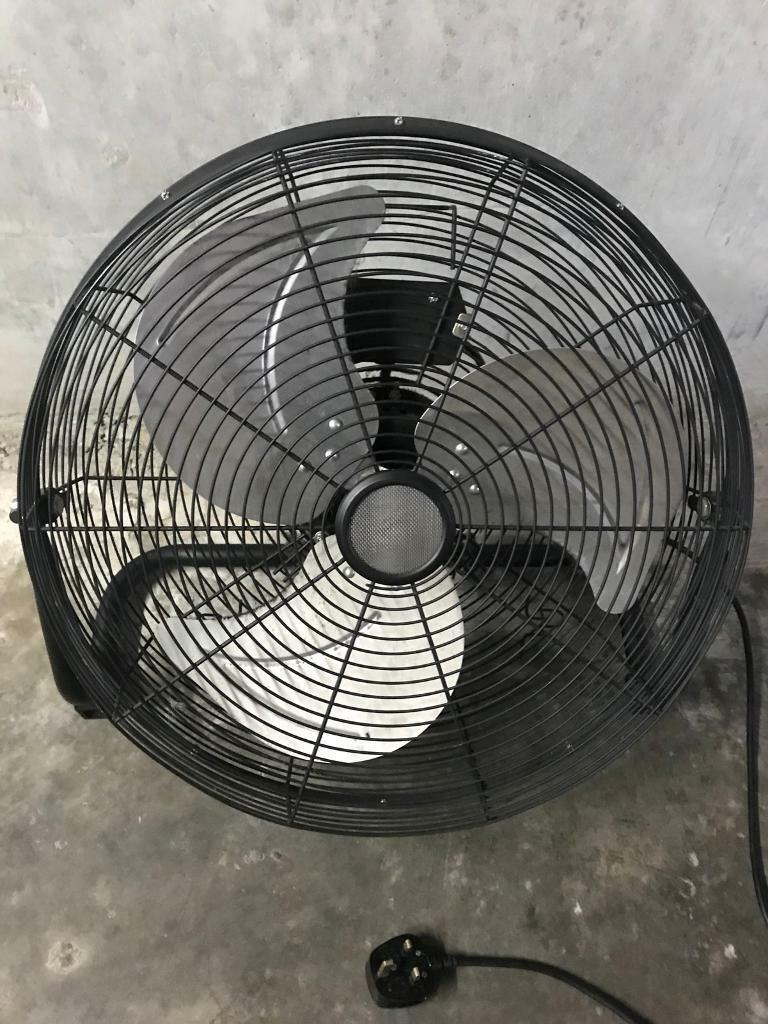 Fan electric very large for store or warehouse perhaps