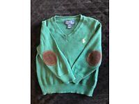 2x Ralph Lauren jumper/polo shirt