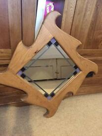 Quality wooden framed mirror
