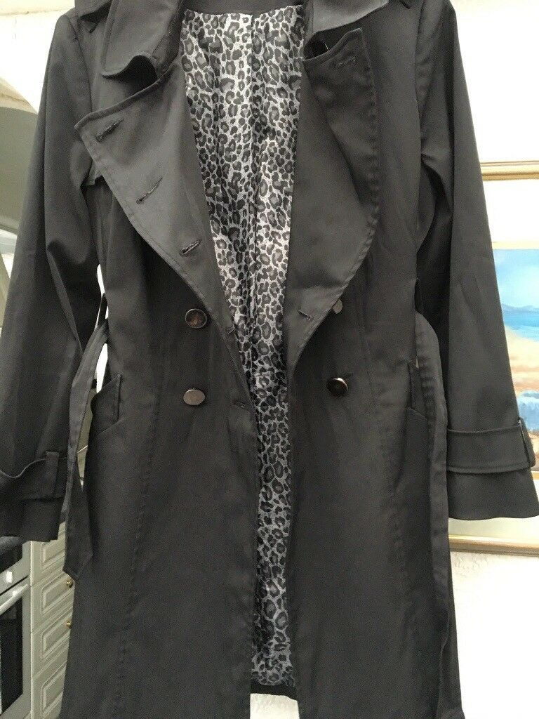 Military style Trench Coat size 18