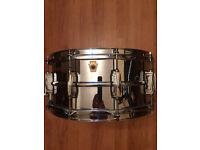 Ludwig 402 Snare Drum Supra-phonic 14x6.5 Classic Lug
