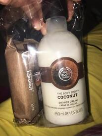 The Body Shop- Coconut products