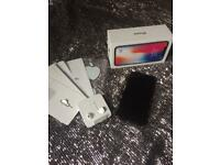 iPhone X 256gb boxed space grey perfect