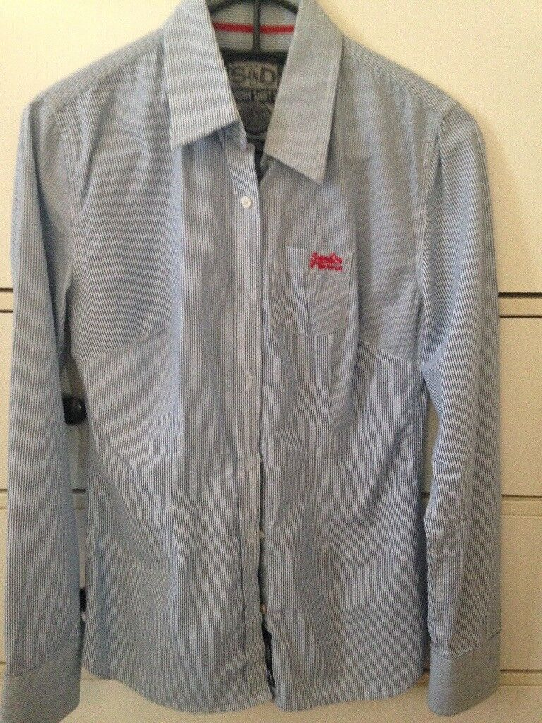 Superdry girls shirt size small