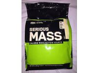Serious Mass Protein - Vanilla 5.4 kg