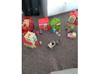 Happyland village toys