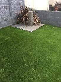 Artificial grass off cut £10