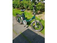 Freego electric folding bicycle