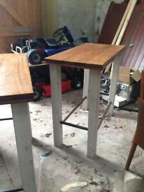 Two large pub tables