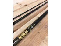 Original Hardy favourite graphite fly rod 10 15ft 3 piece