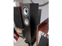 Tannoy revolution xtf6 floorstanding speakers dark wood