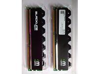 Mushkin Blackline Frostbyte DDR3 PC3-17000 2133mhz 2x 8GB Ram. 16GB Kit.
