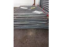 22 panels used herras fencing