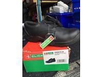 Men's safety shoes sz 9