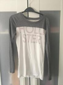 Long sleeved Hollister top, size XS/S