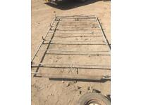 Ford transit swb lr full size roof rack with roller