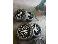 17 inch alloy wheels