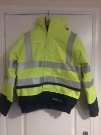 Sioen anti stat, flame retard, work jacket
