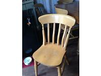 Wooden Chairs £5 each