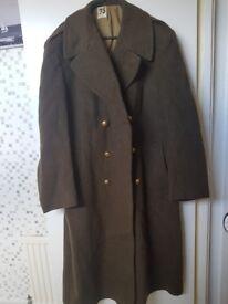 WW2 French Army Overcoat