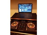 Numark mixtrack pro & magma case & laptop
