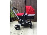 Baby pram/Car seat/Buggy/ Mothercare 3 in 1 pram.