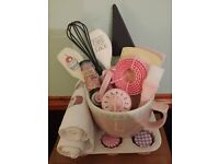 Baking bowl set hampers, Pamper and Baby hampers - Great Mother's day or Easter gifts