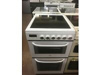 50CM WHITE STOVES ELECTRIC COOKER