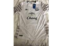 Everton away shirt