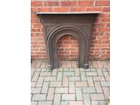 Cast Iron Fire Surround height . Cams