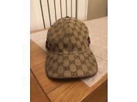 Men's authentic Gucci cap size small