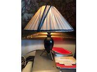 Vintage / Retro Lamp - Sputnik Style Bedside Lamp - Full Working Order - Collectible Lamp