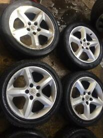 "17"" GENUINE VAUXHALL ASTRA VECTRA ZAFIRA SET OF 4"