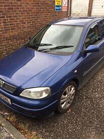 02 Vauxhall Astra 1.6 sxi