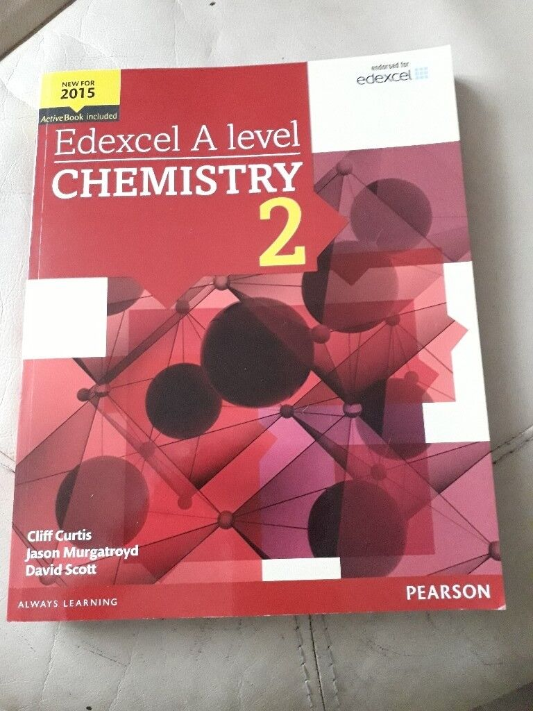 Edexcel A level Chemistry 2 | in Oadby, Leicestershire | Gumtree