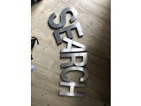 3D Shop Lettering - SEARCH