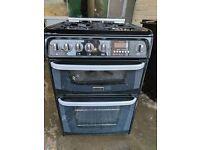 Black Cannon Gas Cooker (60cm) (6 Month Warranty)