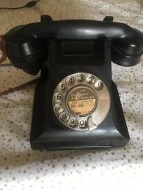 Fully working Bakelite telephone