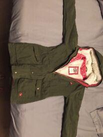 Boden Mini Girls Parka Jacket