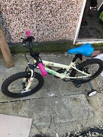 Girls Apollo Woodland Charm Bike Age 5-8 years Approx 18 '' Frame 16'' Wheels