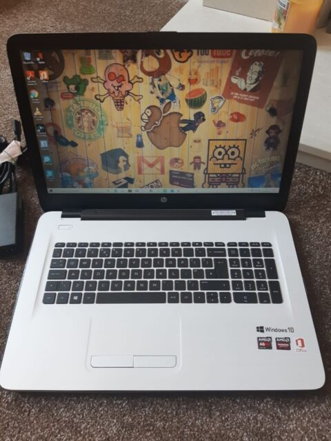 HP NOTEBOOK 17 ENERGY STAR (10GB) (AMD A6-QUAD-CORE) OFFICE 2016 HD+ XL  17 3 WS LAPTOP | in Bradford, West Yorkshire | Gumtree