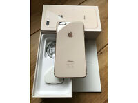 Apple iphone 8 PLUS- 64GB Gold UNLOCKED IMMACULATE PRISTINE CONDITION !