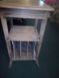 French hall table with paper holders paris