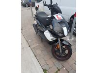 diablo lexmoto 125cc moped 16plate