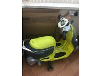 Children's 6v bike with sounds,lights and charger